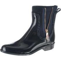 TOMMY HILFIGER MATERIAL MIX RAIN BOOT Klassische Stiefel blau Damen Gr. 36