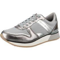 TOMMY HILFIGER METALLIC SNEAKER Sneakers Low grau Damen Gr. 40
