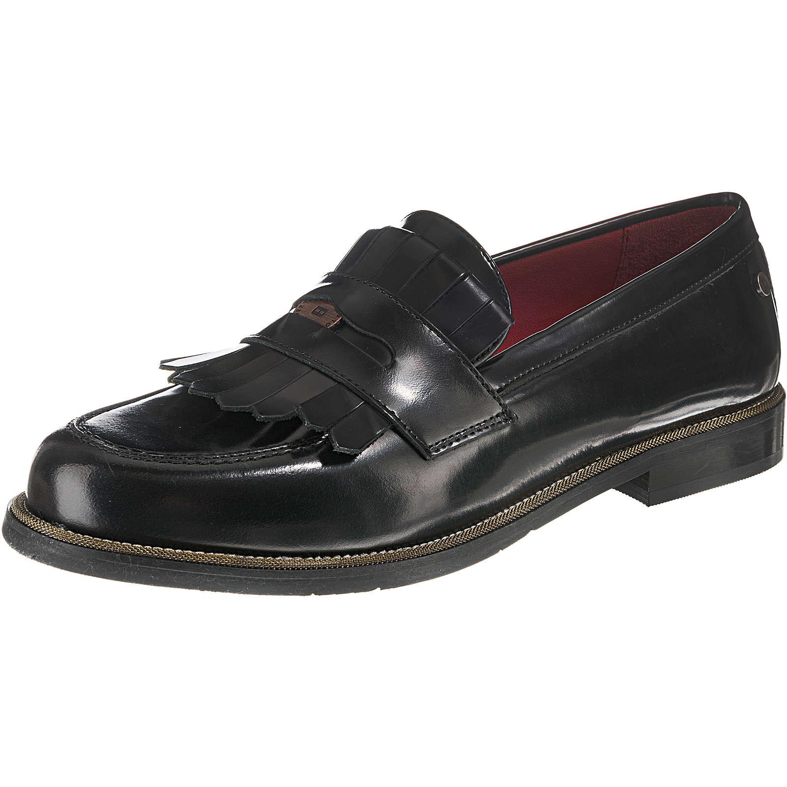 TOMMY HILFIGER PENNY BAR LOAFER Loafers schwarz Damen Gr. 37