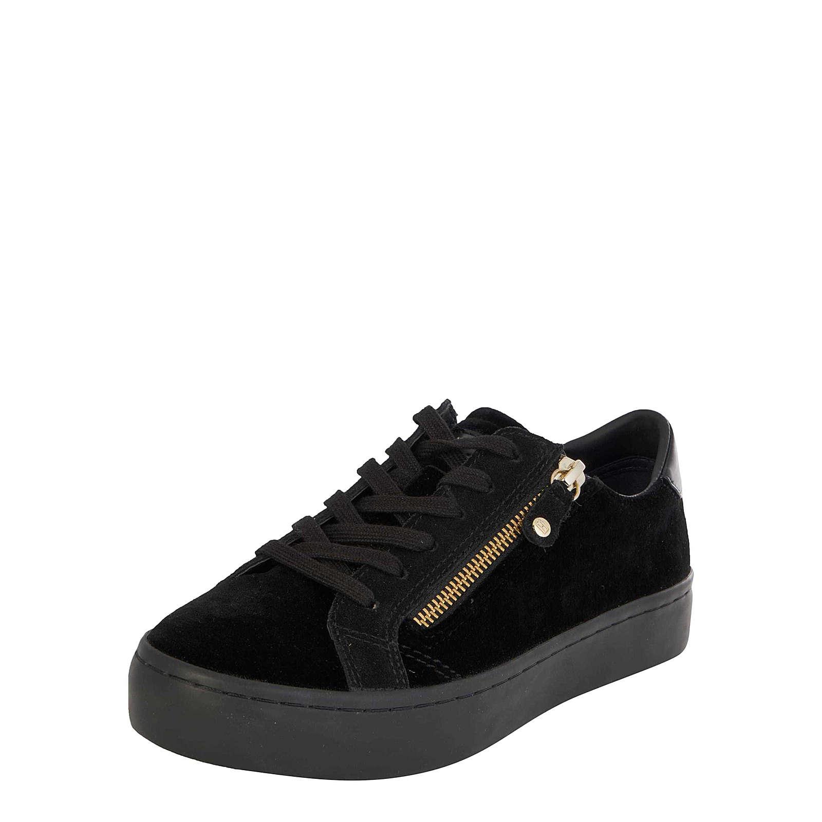 TOMMY HILFIGER Sneaker low Jupiter Sneakers Low schwarz Damen Gr. 39
