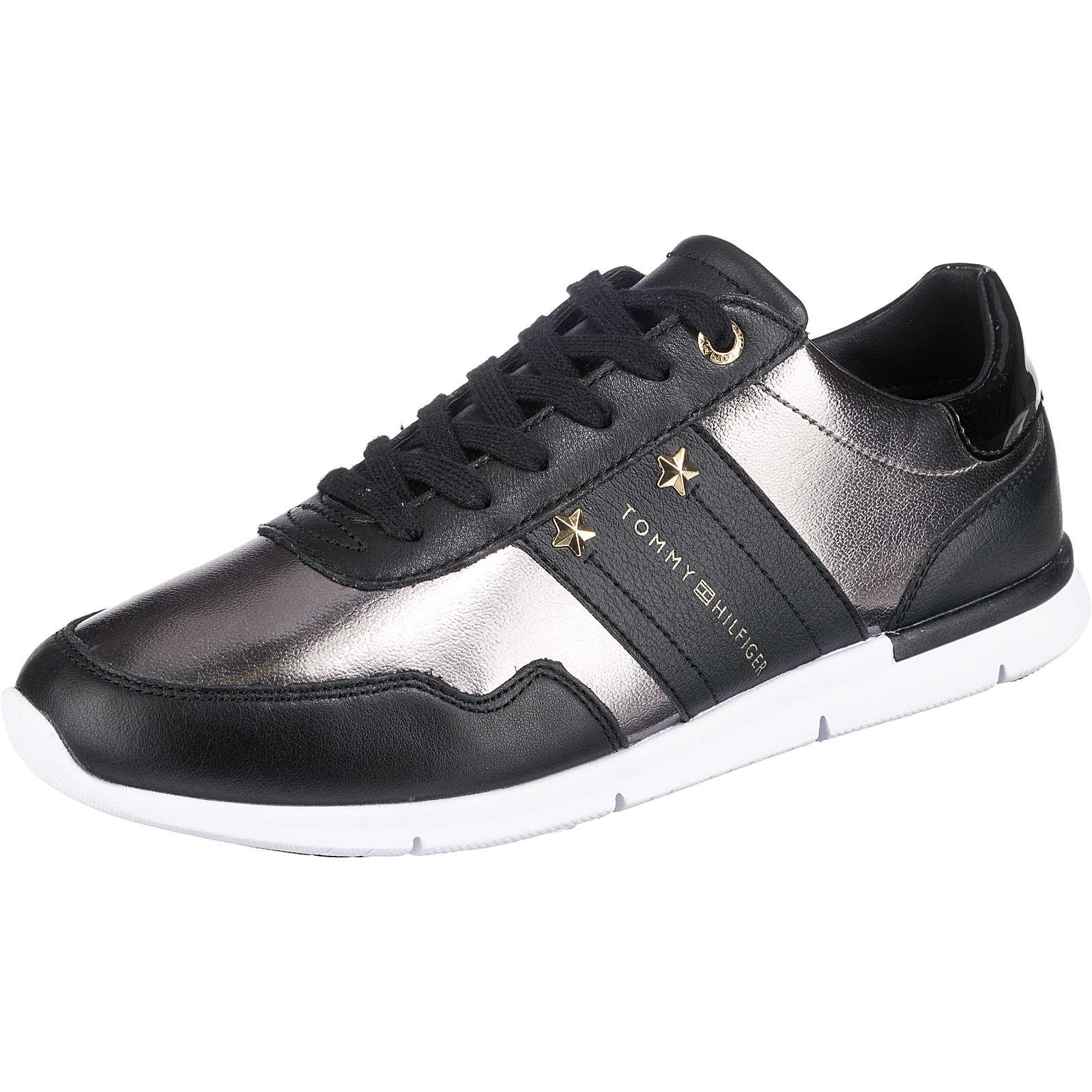 TOMMY HILFIGER Sneakers Low schwarz Damen Gr. 38