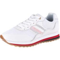 TOMMY HILFIGER Sneakers Low weiß Damen Gr. 41