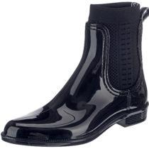 TOMMY HILFIGER TOMMY KNIT RAIN BOOT Ankle Boots blau Damen Gr. 36