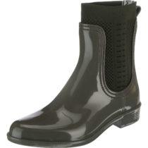 TOMMY HILFIGER TOMMY KNIT RAIN BOOT Ankle Boots khaki Damen Gr. 36