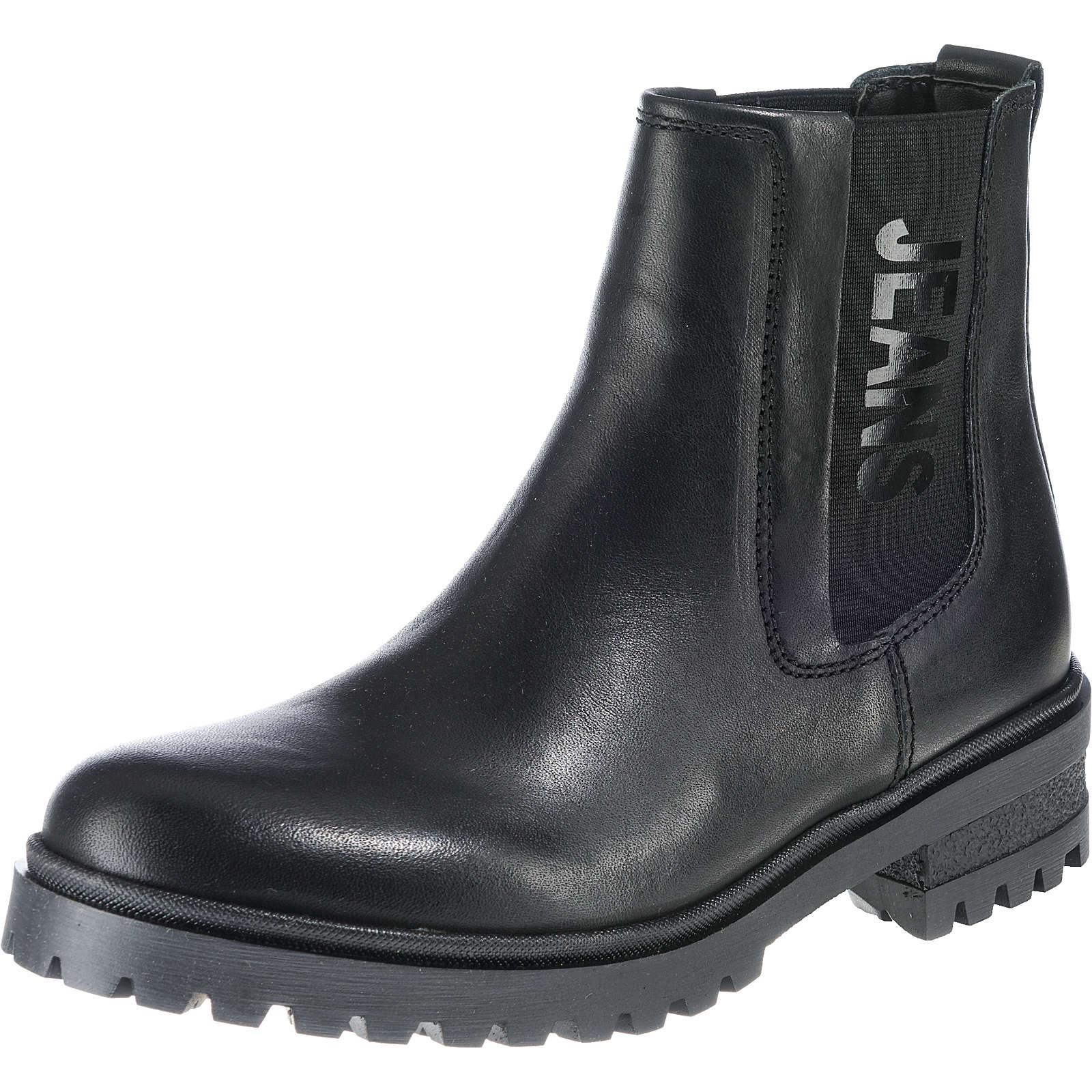 TOMMY JEANS Chelsea Boots schwarz Damen Gr. 41