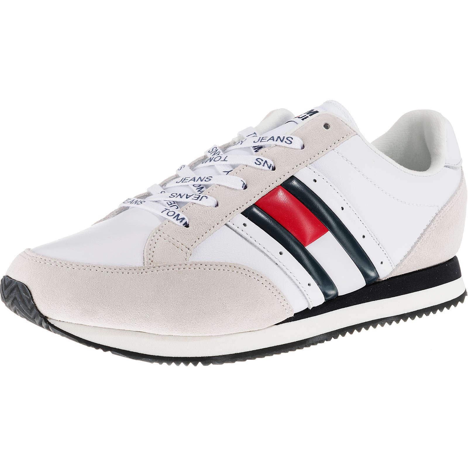 TOMMY JEANS Stevia 1A Sneakers Low weiß Herren Gr. 43