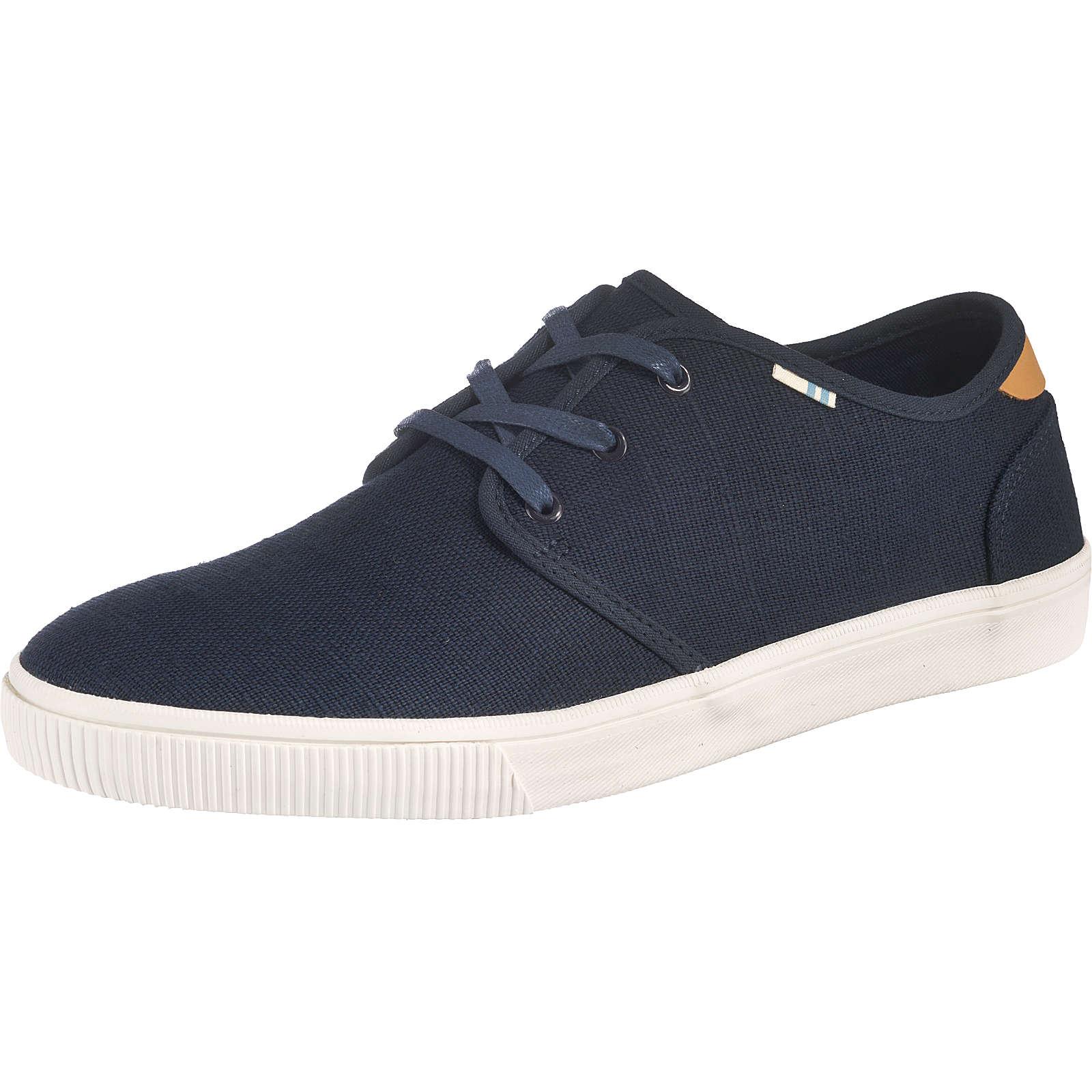 TOMS Carlo Sneakers Low dunkelblau Herren Gr. 43