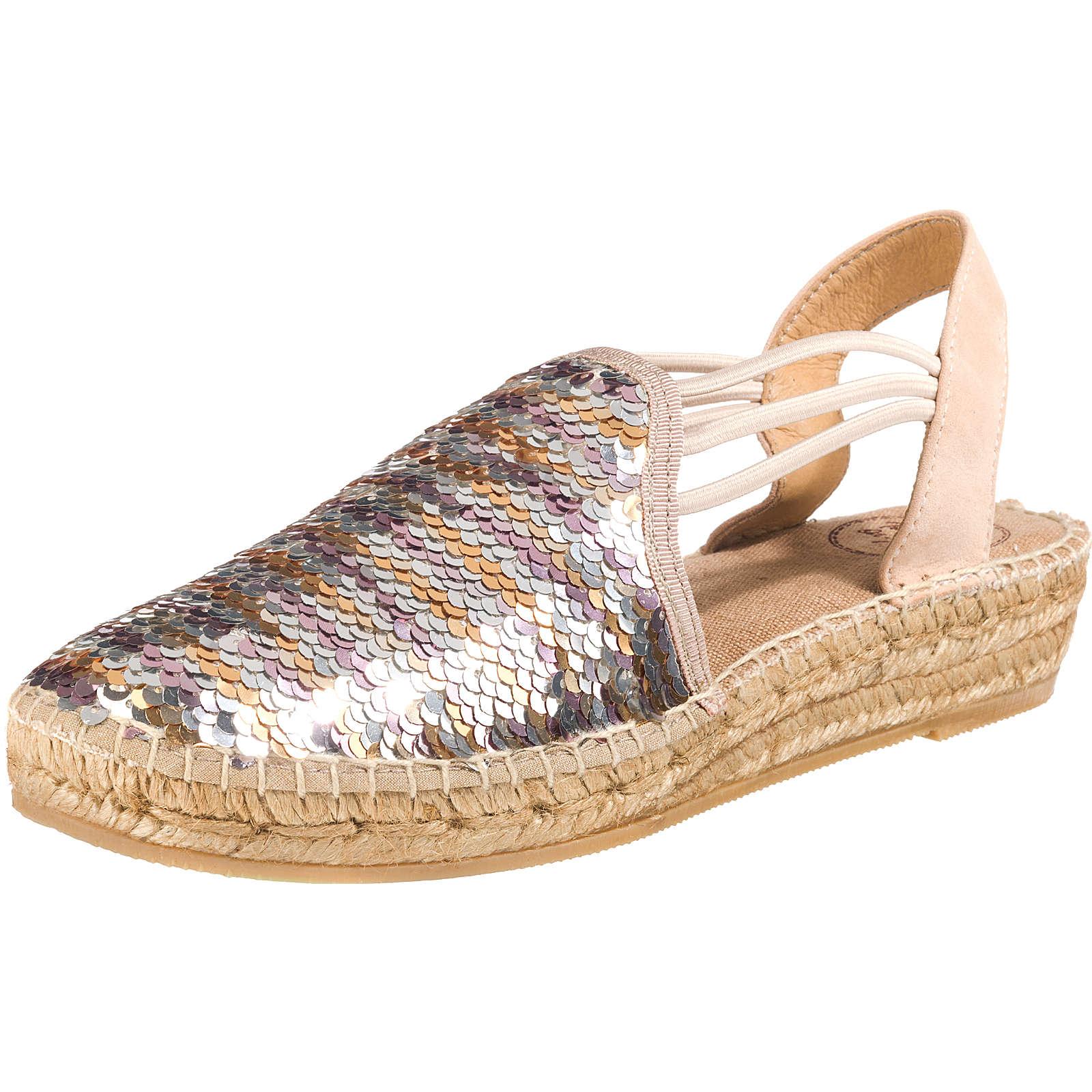 Toni Pons Klassische Sandalen silber Damen Gr. 42