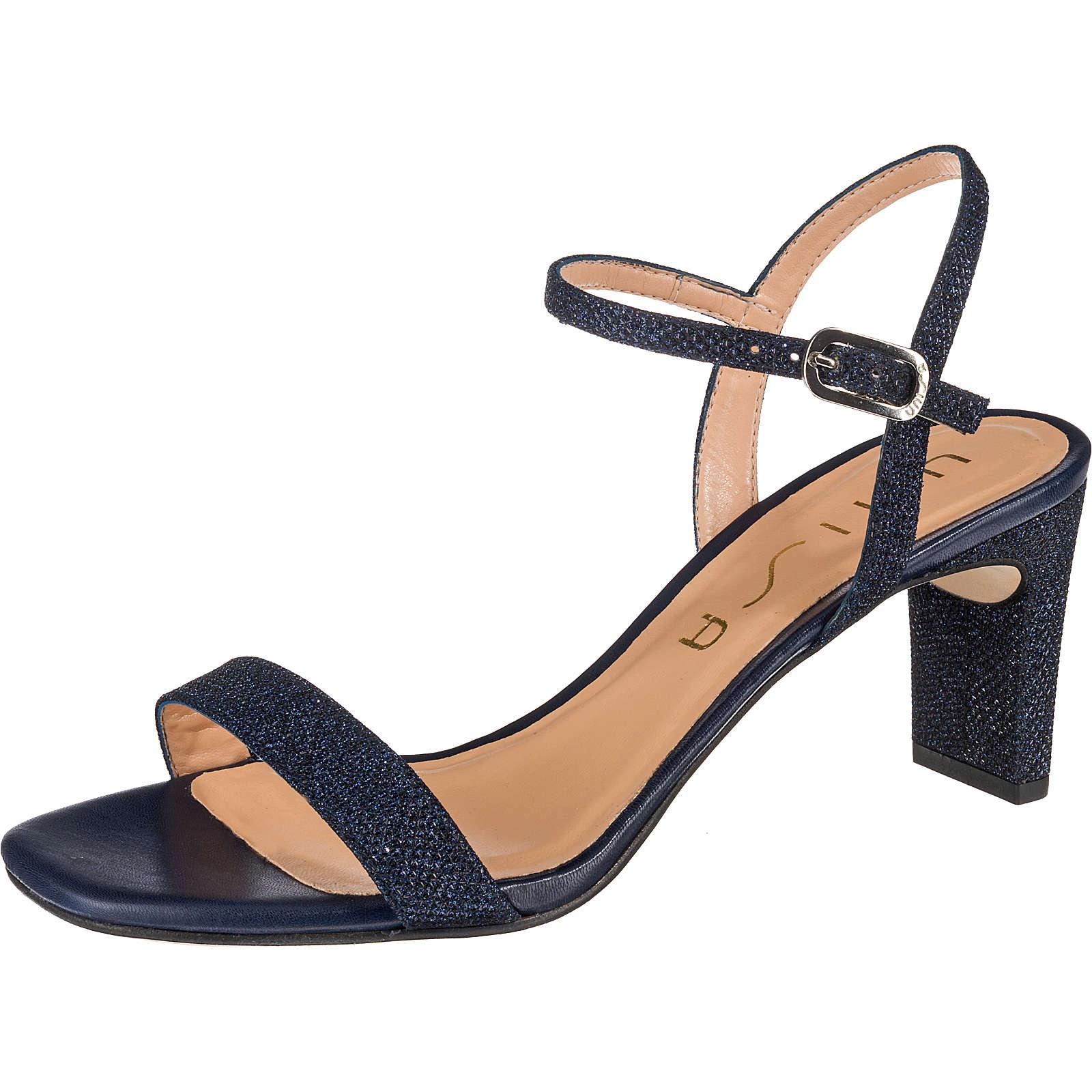 Unisa Klassische Sandaletten blau Damen Gr. 42