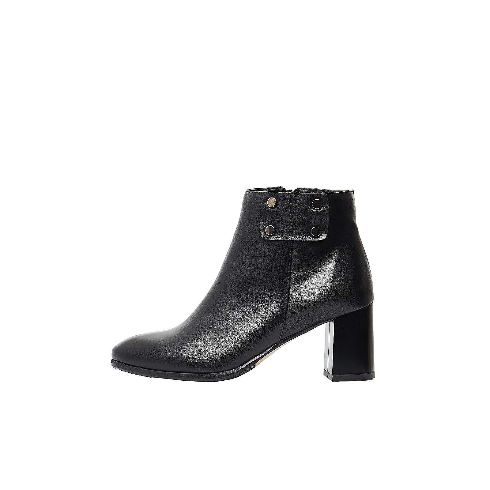 usha WHITE LABEL Modische Ankle Boots schwarz Damen Gr. 38