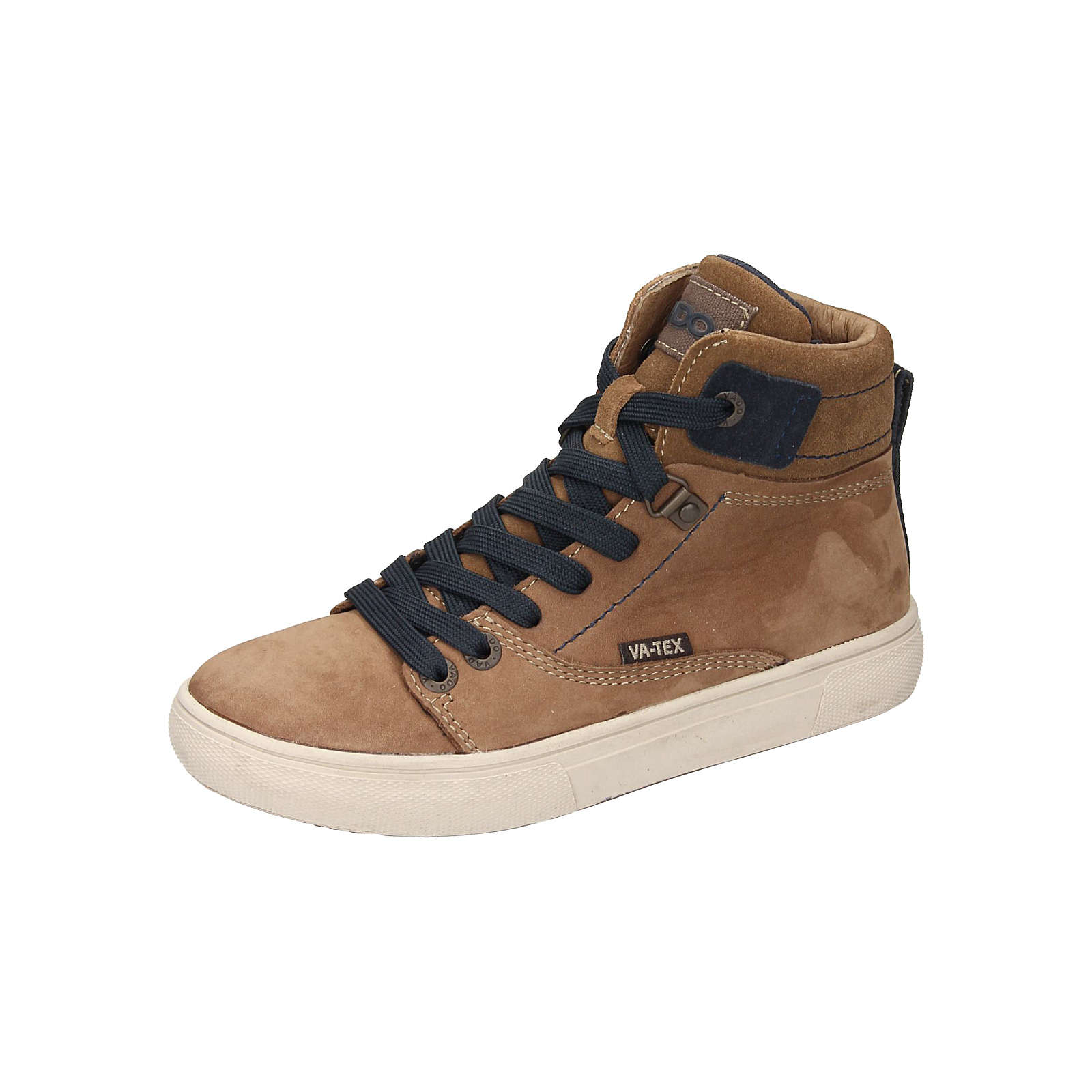 VADO Sneakers High für Jungen braun Junge Gr. 36