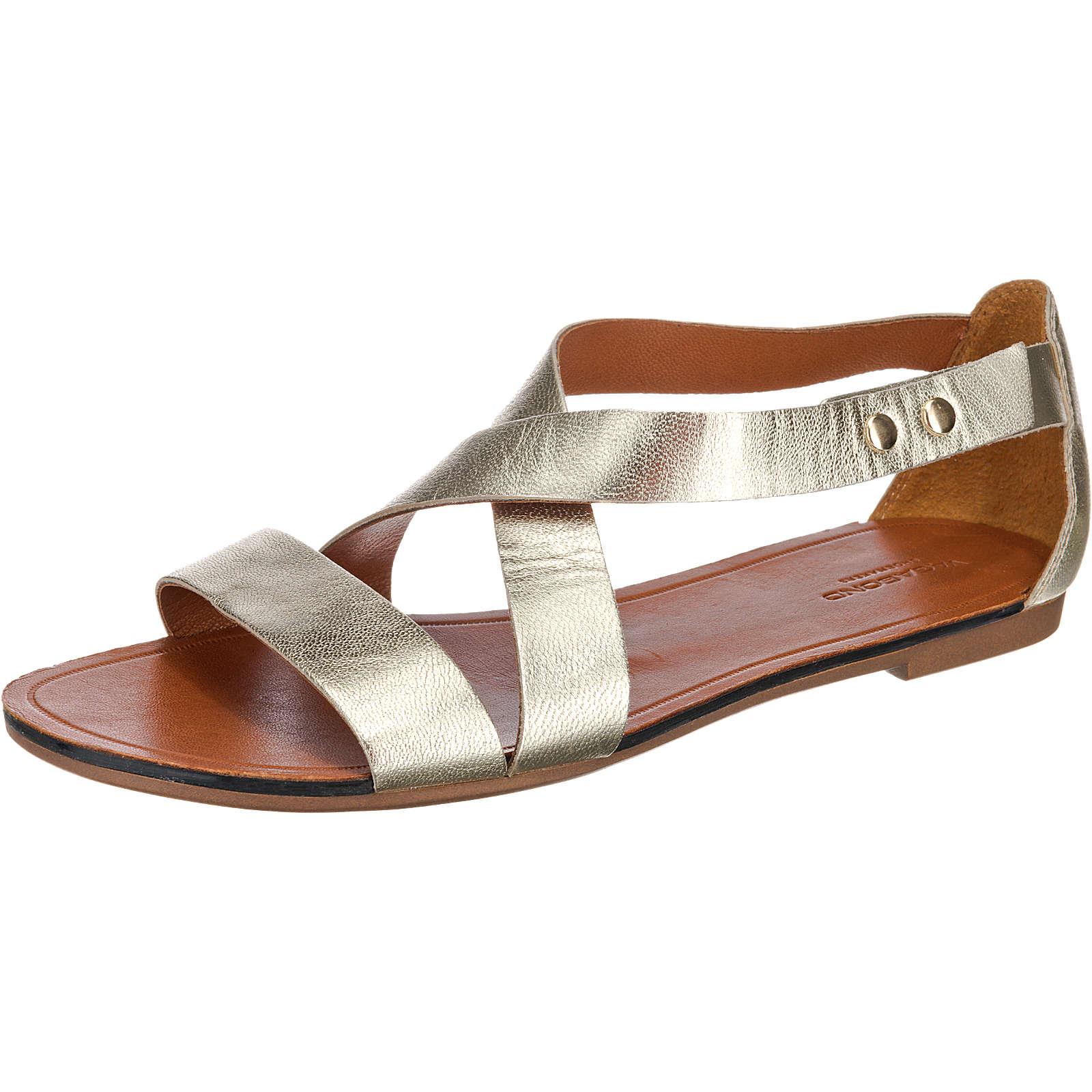 VAGABOND Tia Klassische Sandalen gold Damen Gr. 36