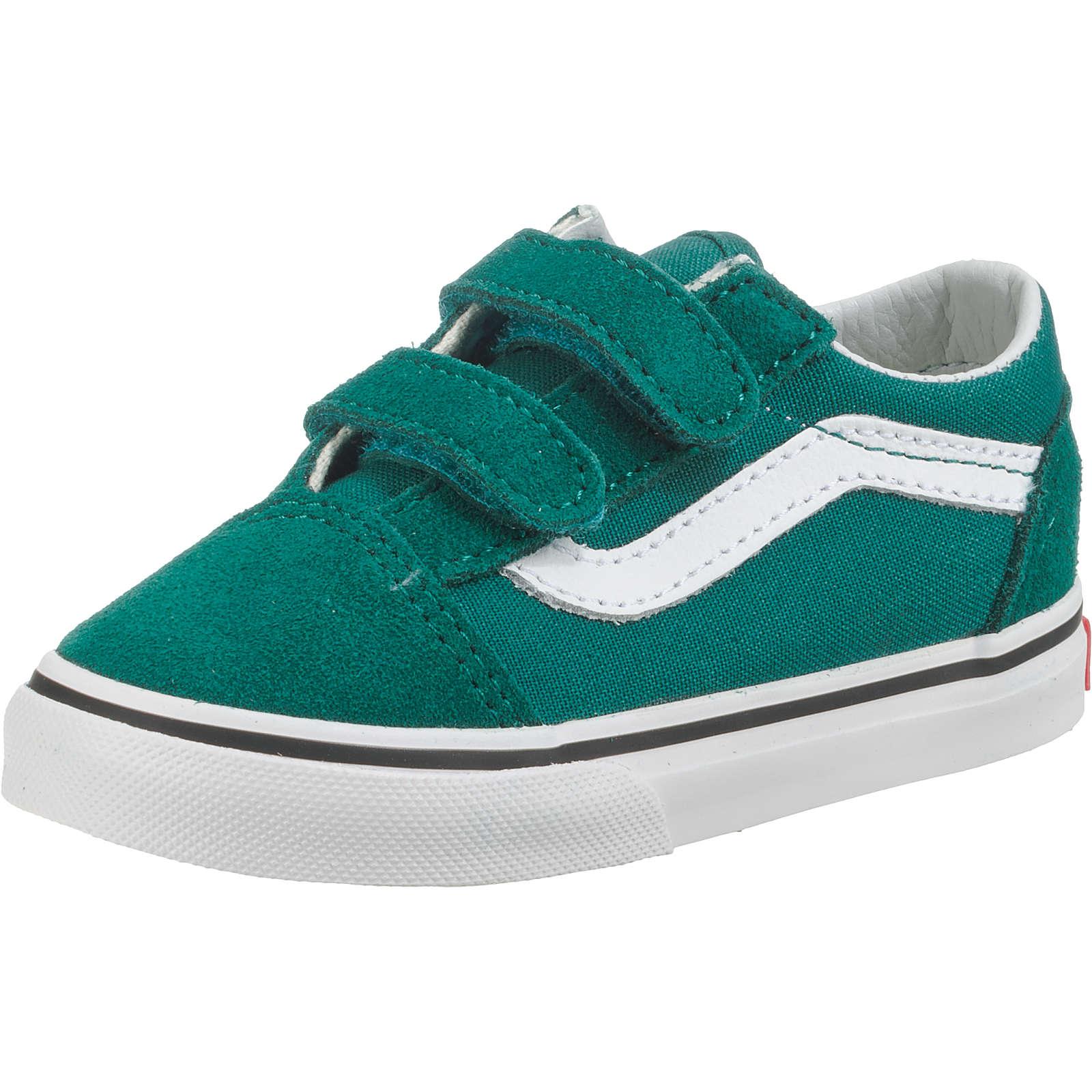 VANS Baby Sneakers Low TD Old Skool V für Jungen grün Junge Gr. 23,5
