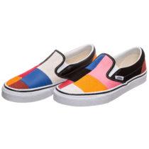 VANS Classic Slip-On Patchwork Sneaker Damen mehrfarbig Damen Gr. 34,5