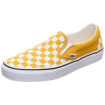 VANS Classic Slip-On Sneaker Damen gelb/weiß Damen Gr. 40,5