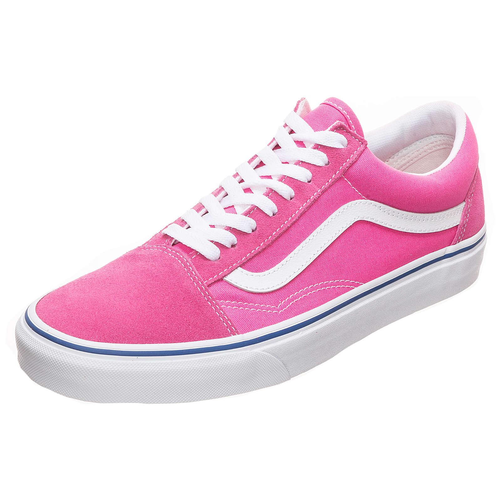 VANS Old Skool Sneaker rosa/weiß Gr. 36