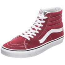 VANS Sk8-Hi Sneaker rot/weiß Gr. 40