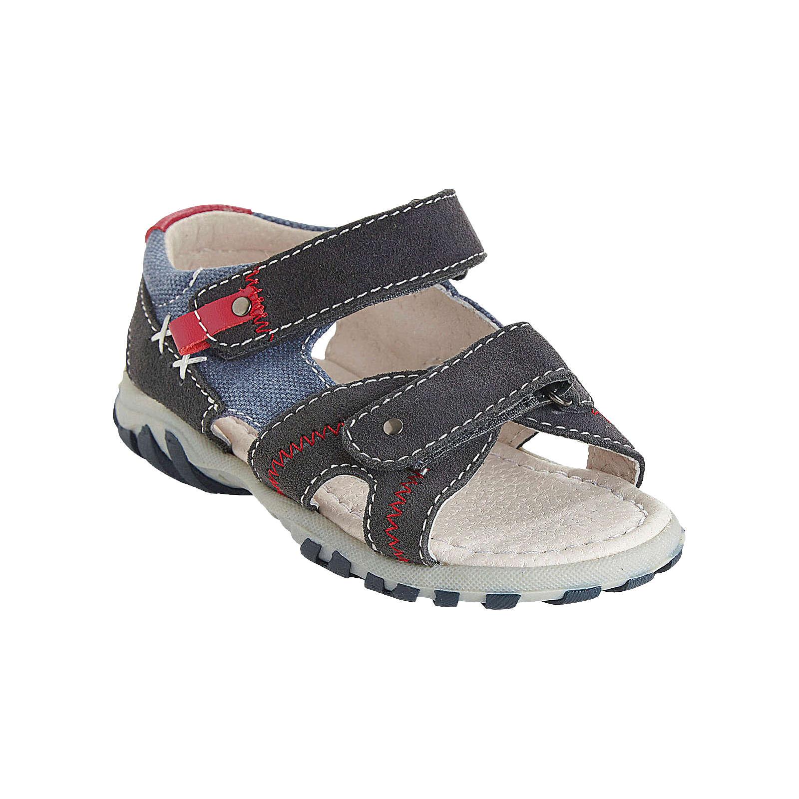 vertbaudet Sandalen für Jungen dunkelblau Junge Gr. 28