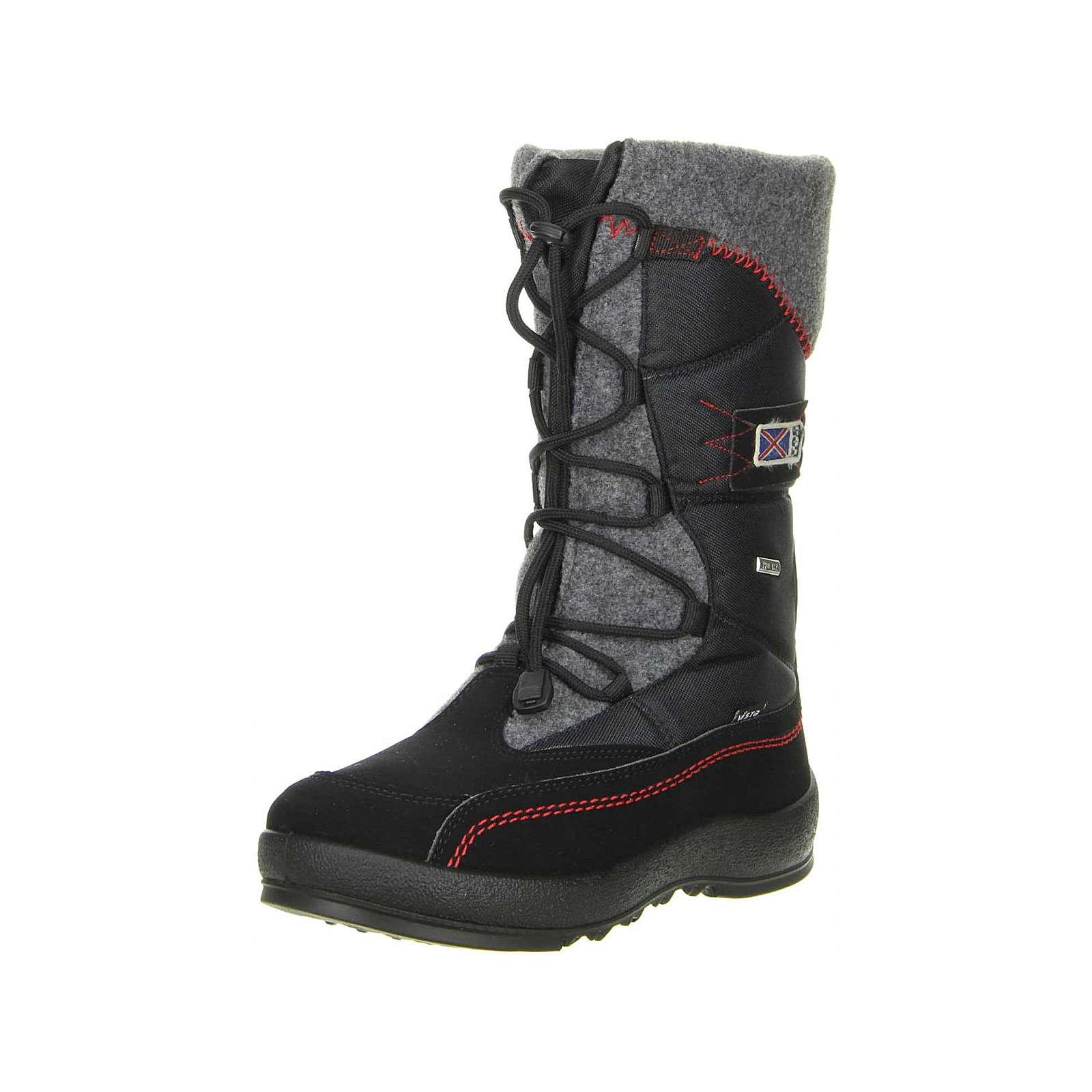 Vista Damen Winterstiefel Snowboots schwarz schwarz Damen Gr. 36