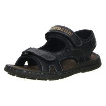 Vista Klassische Sandalen schwarz Herren Gr. 40
