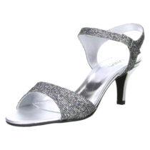 Vista Klassische Sandaletten silber Damen Gr. 35