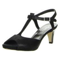 Vista T-Steg-Sandaletten schwarz Damen Gr. 39