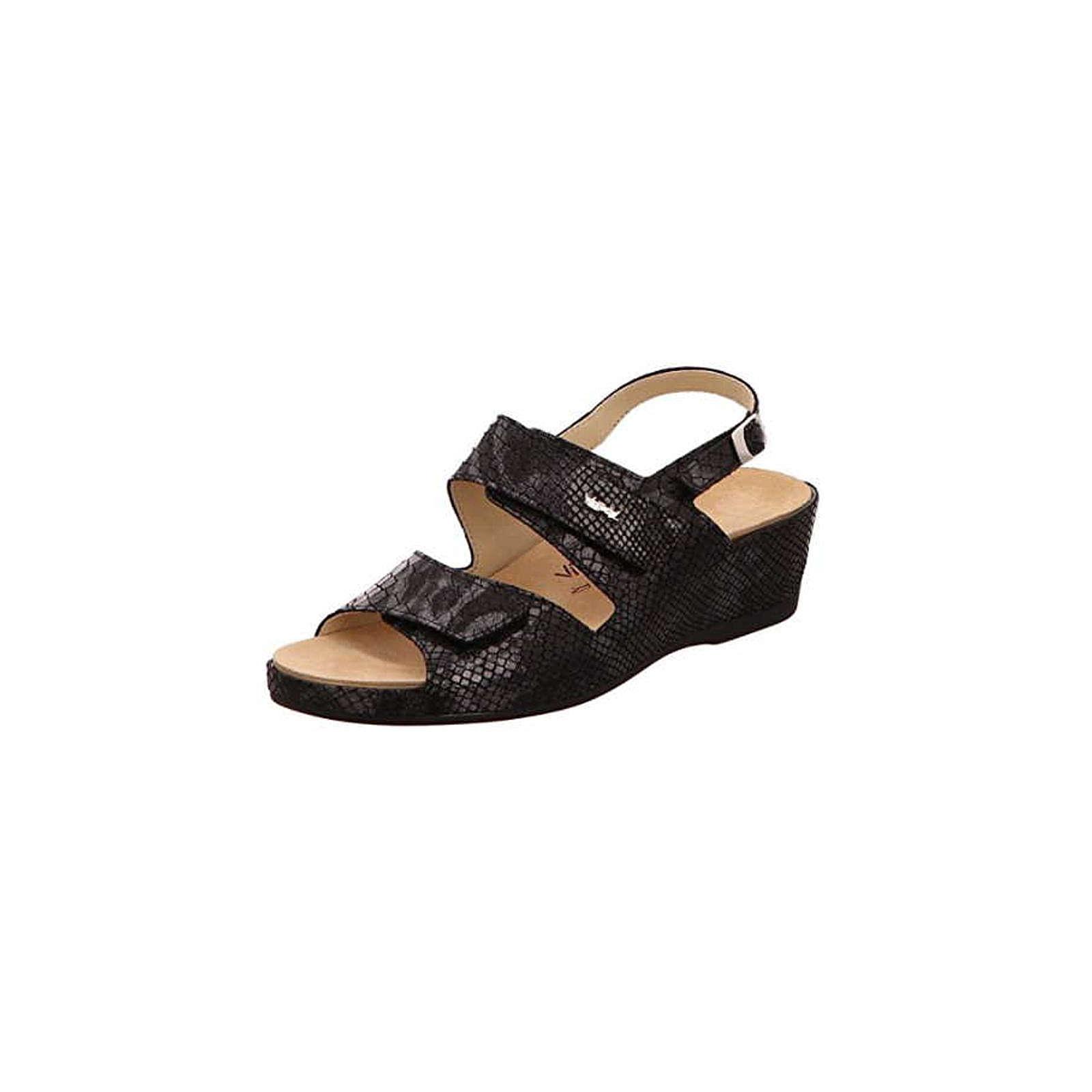 Vital Sandalen/Sandaletten schwarz schwarz Damen Gr. 37
