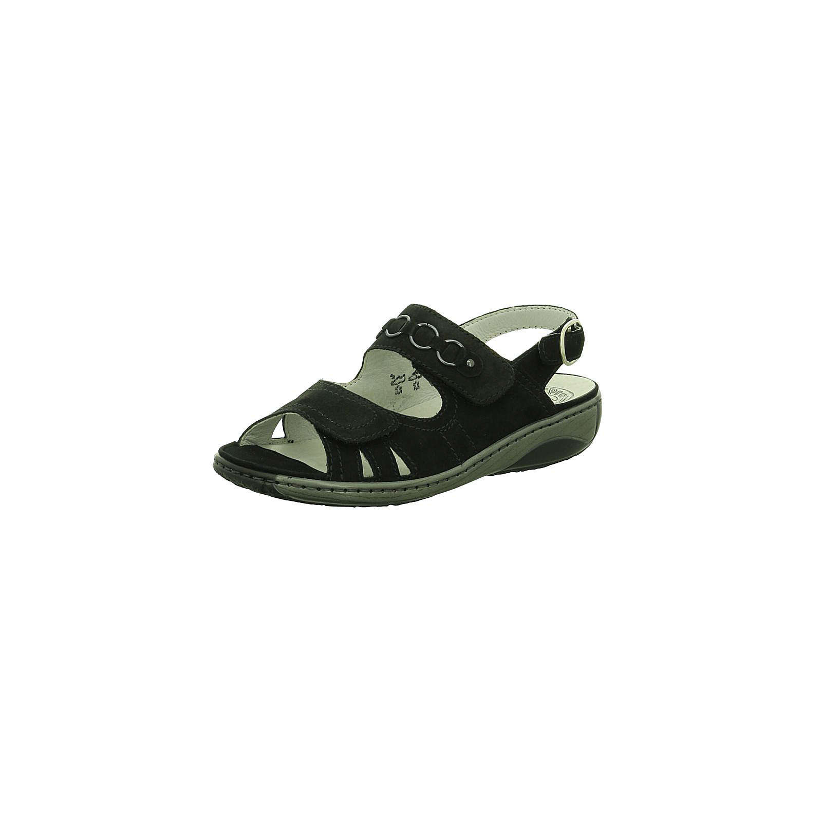 WALDLÄUFER Komfort-Sandalen schwarz Damen Gr. 36