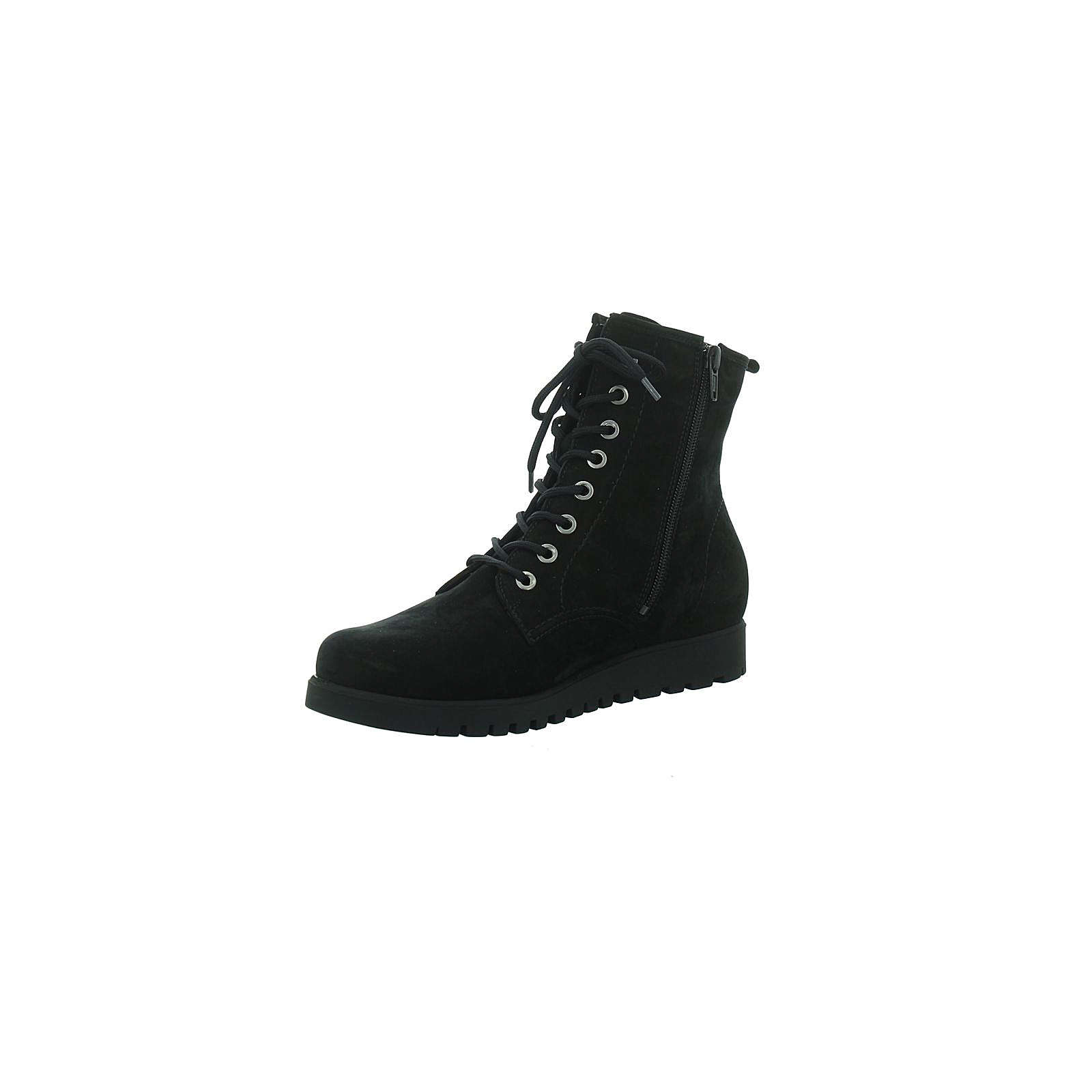 WALDLÄUFER Stiefel schwarz Klassische Stiefeletten schwarz Damen Gr. 37,5