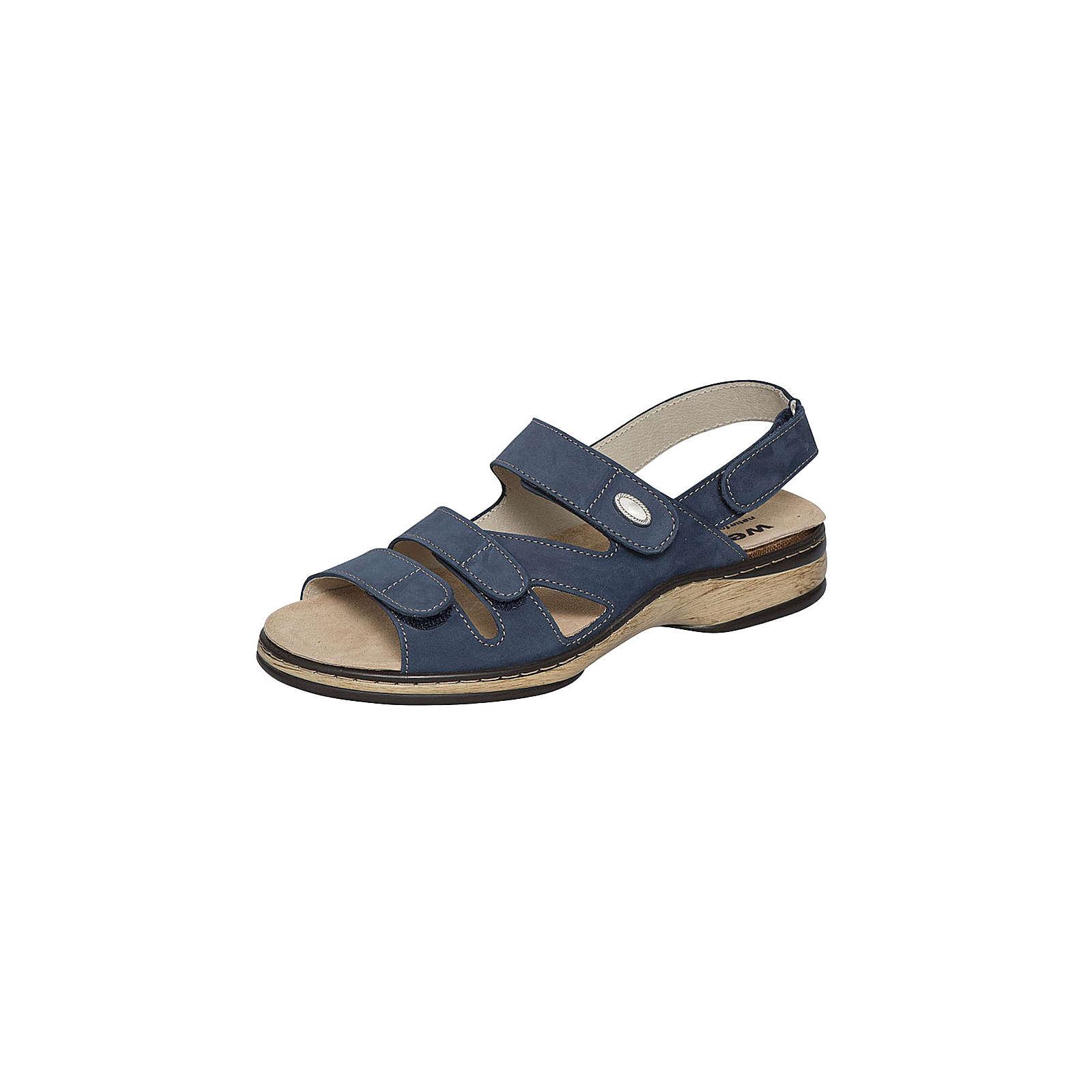 Weeger Komfort-Sandalen blau Damen Gr. 38