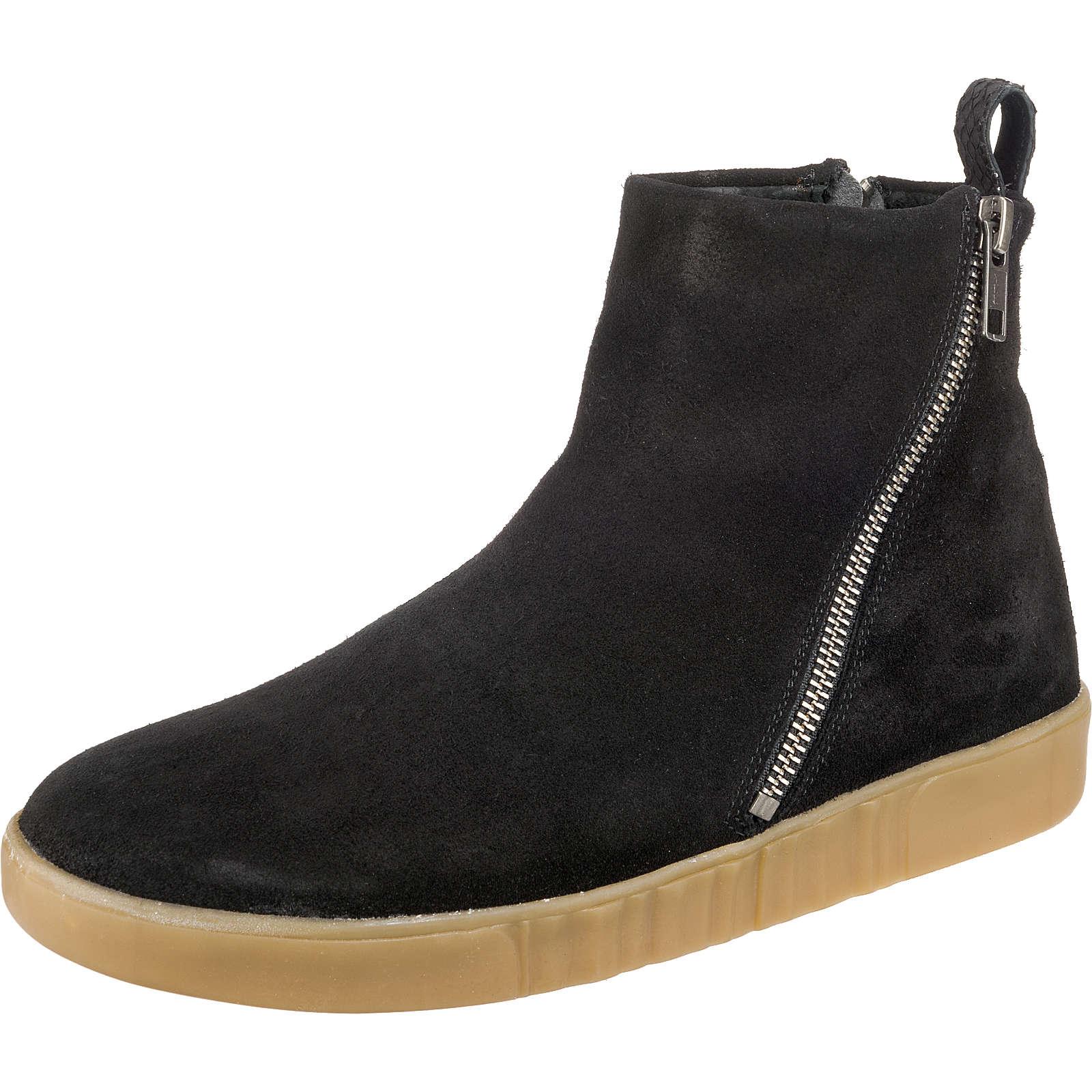 WODEN Frida Suede Sneakers High schwarz Damen Gr. 42
