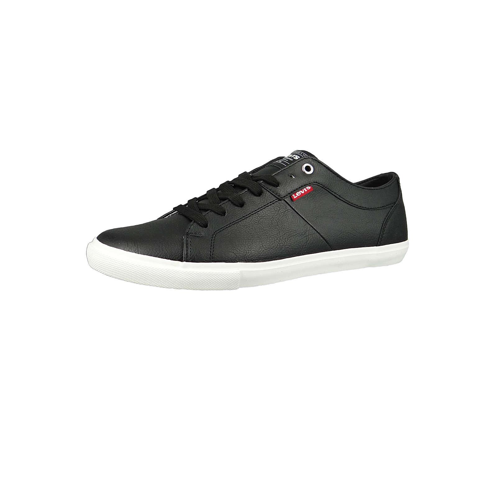 Woods 225826-794-59 Herren Sneaker Regular Black Schwarz Sneakers Low schwarz Herren Gr. 44